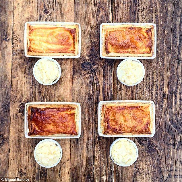 Chicken and Leek Pie with Mash - get recipe here…