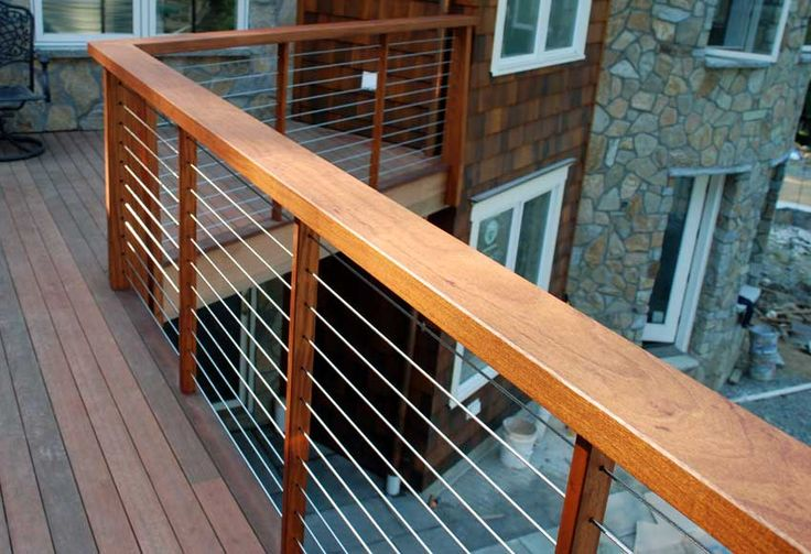cable deck railing | Why Build a Cable Deck Railing Cable-Deck-Railing – Home,Garden and ...