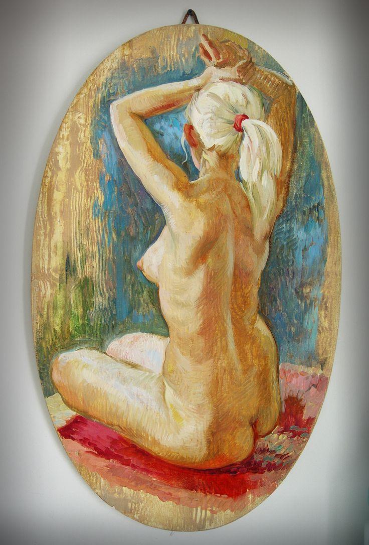 Этюд 90 минут холст, масло. 75х45 см #Дмитрий_Костылев  #Dmitry_Kostylew #IntArtStudio #nudeart #обнажённая #nude #купить_картину