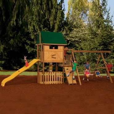 playstar great escape starter totally swing sets
