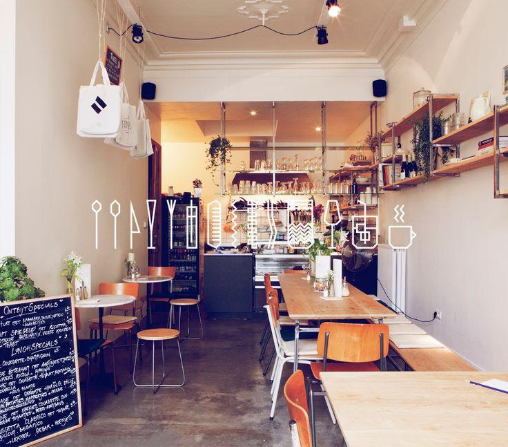 Bij Tinsel kun je geweldig lunchen. Aan de Vlaamse Kaai in Antwerpen