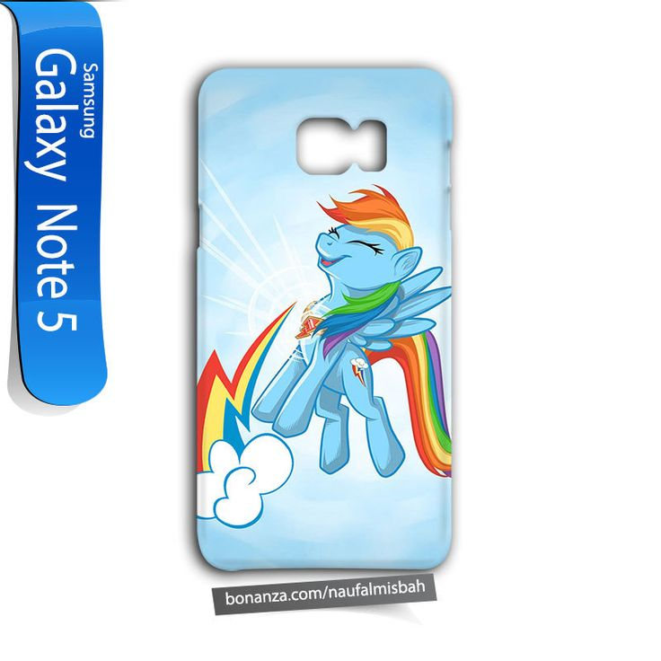Rainbow Dash Cutie Samsung Galaxy Note 5 Case Cover Wrap Around - Cases, Covers & Skins