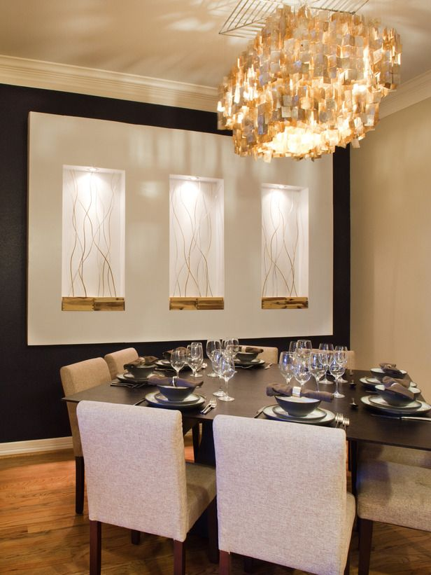 ... Contemporary Dining Room Wall Decor