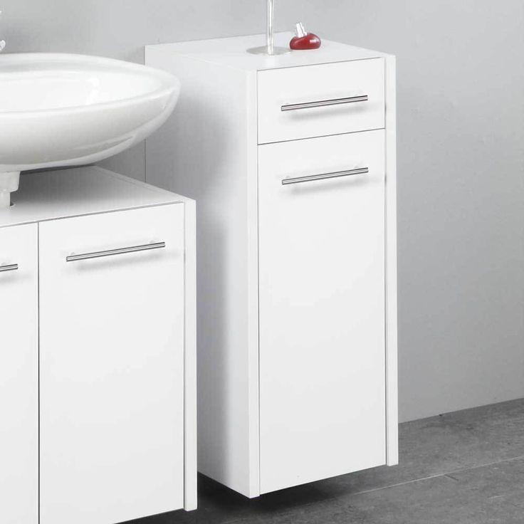 Die besten 25+ Badezimmerschrank weiß Ideen auf Pinterest - hängeschrank für badezimmer