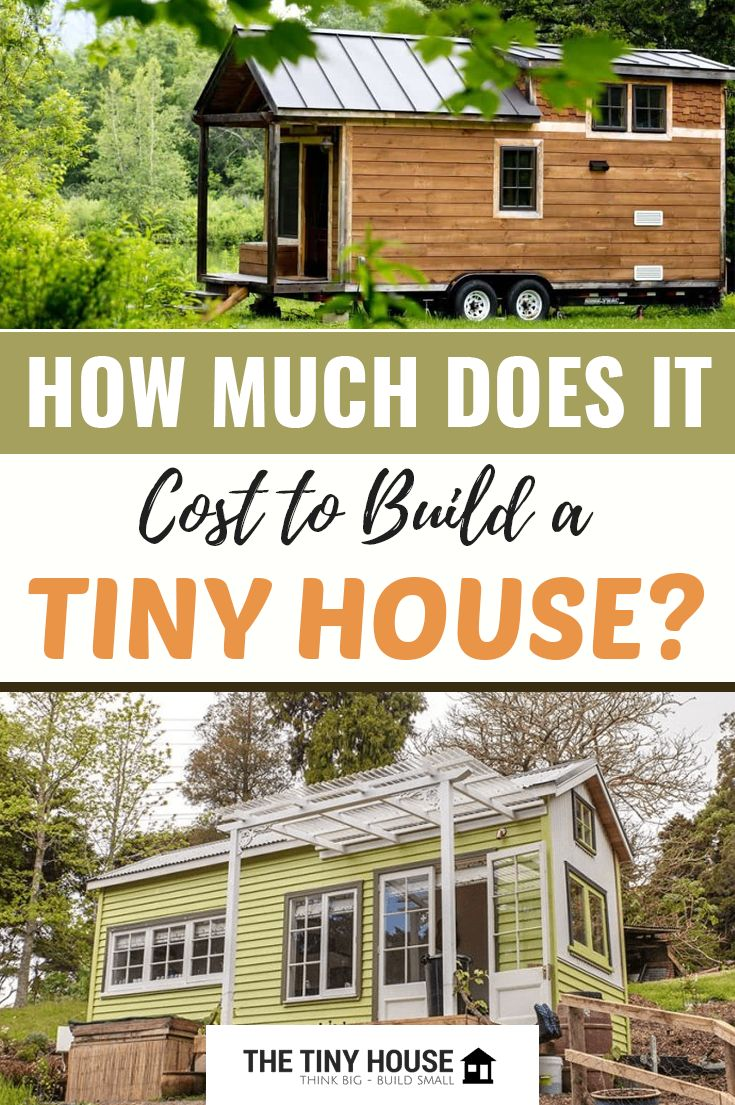 How much does it cost to build a tiny house? Tiny house ...