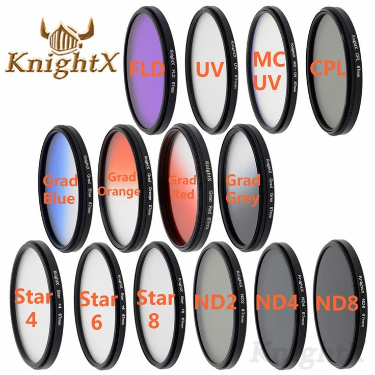 2.35$  Watch now - KnightX 49 52 55 58 62 67 72 77 UV CPL ND filter dish cloth For nikon canon go pro canon 550d lente canon d7200 lente 700d d3200   #buyonlinewebsite