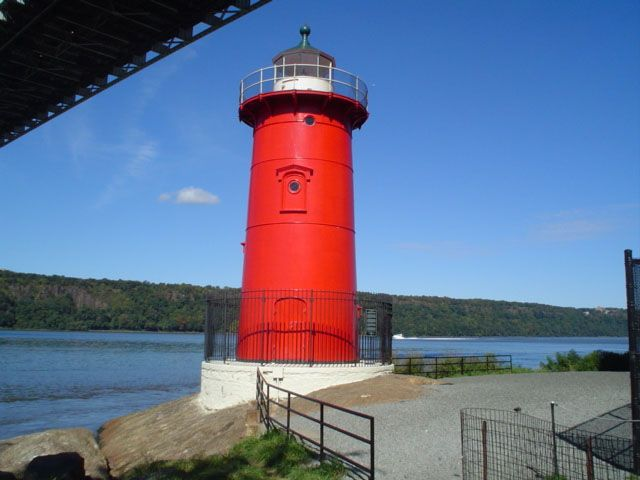Fort Washington Park Highlights - The Little Red Lighthouse