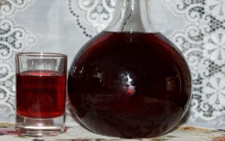 """АРОМАТНАЯ Наливочка-Называется она """"100 листьев""""      (на 1.5 литра напитка):     33 листа вишни;   33 листа черной смородины;   33 одиночных листа малины;   1 стакан ягод черноплодной рябины;   0.5 л водки (или разведенного спирта);   1 стакан сахарного песка;   1 ч\ложка лимонной кислоты (или лимонный сок по вкусу).     Не имеющие имения могут раздобыть всё это на рынке у бабушек. Проверено знакомыми - добывается!   Если нет в продажде так, можно договориться и на следующи..."""