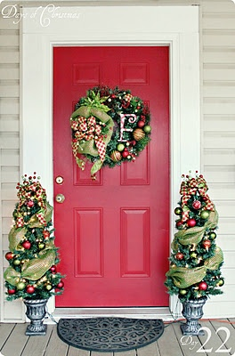 Cute idea for front door