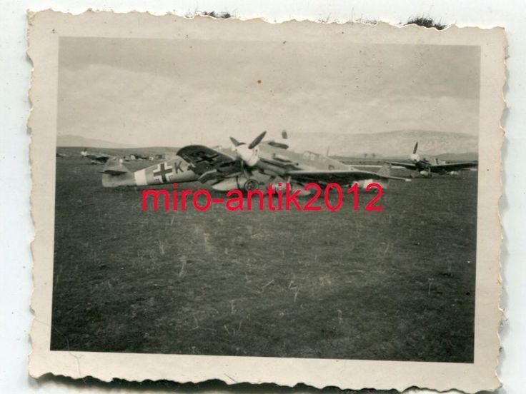 Foto, Me 109, Bf 109, Flugzeuge des JG 27, Athen, Griechenland, (G) | eBay