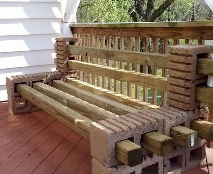 Nice 75 Creative DIY Cinder Block Furniture and Decor Ideas https://decorapartment.com/75-creative-diy-cinder-block-furniture-decor-ideas/