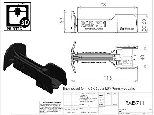 RAE-711 Sig-Sauer MPX Magazine Loader. Loads 5 9mm Rounds at once! For 10, 20, 30 Round Magazines (Black)  //Price: $ & FREE Shipping //     #sports #sport #active #fit #football #soccer #basketball #ball #gametime   #fun #game #games #crowd #fans #play #playing #player #field #green #grass #score   #goal #action #kick #throw #pass #win #winning