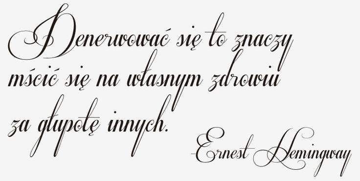Cytaty, sentencje, napisy - Ernest Hemingway - 122