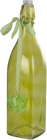 Glasflaska, i färgat glas, flera färger, 3109242