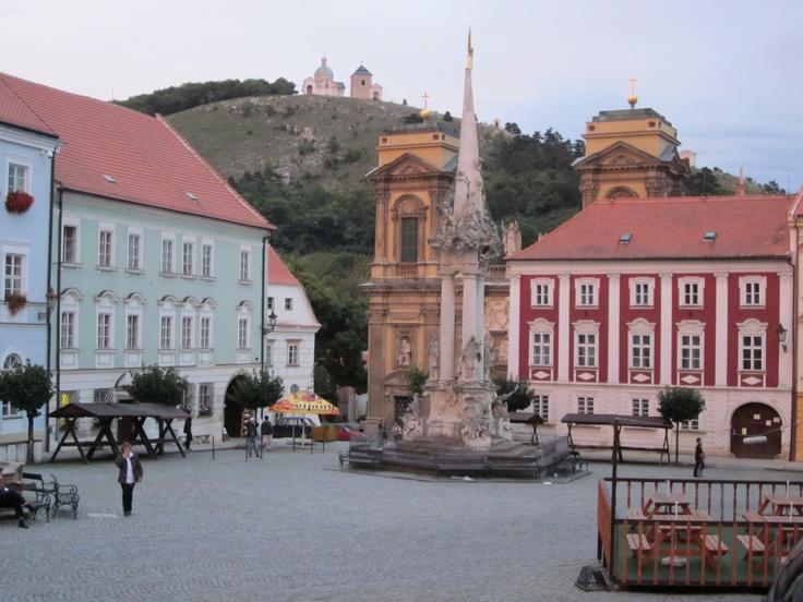 Un hermoso lugar, de nombre... Mikulov, Česká republika