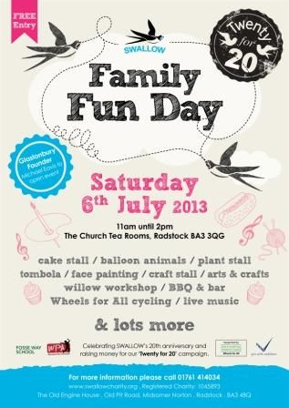 Join us this Saturday at our Family Fun Day -the weather is going to be lovely and we'll provide the BBQ!