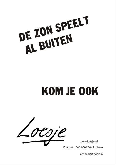 Loesje v/d Posters on