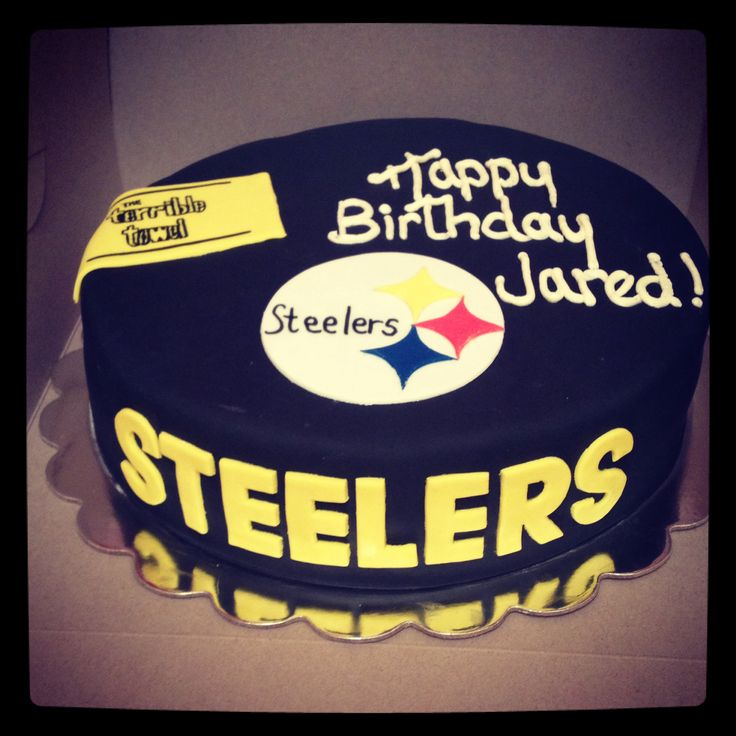 13 best Steelers cake images on Pinterest Pittsburgh steelers