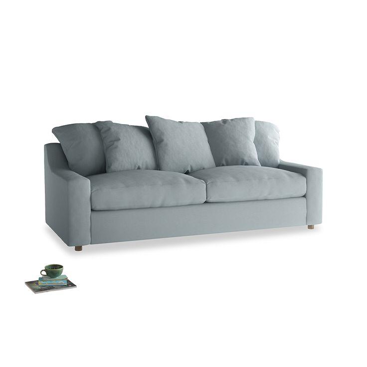 large cloud bed sofa in quails egg clever linen - Ausatmen Fans Berprfen