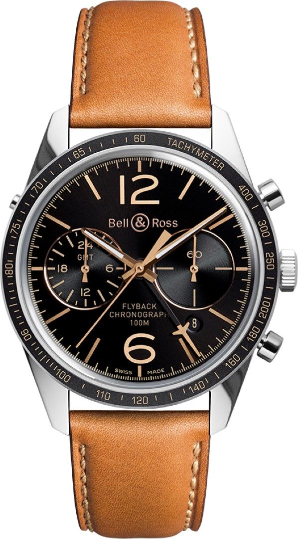 Bell and Ross Vintage BR 126 Heritage GMT Flyback