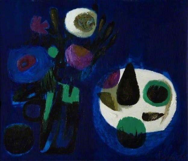 Blue Still Life by Mary Fedden