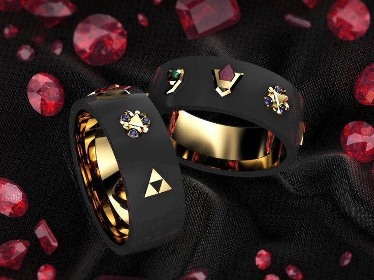 Just finished the CAD for a Zelda ring (men's wedding band)! - Imgur