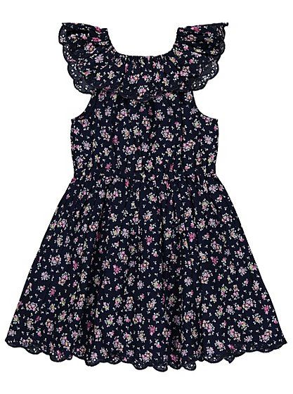 Floral Print Bardot Dress, read reviews and buy online at George at ASDA. Shop from our latest range in Kids. When it comes to special occasions or day-to-da...