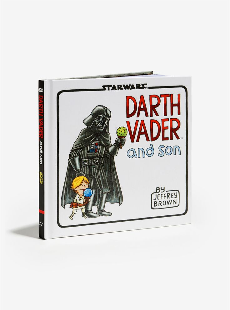 This Star Wars Darth Vader and Son book would be a great gift for any new dads.