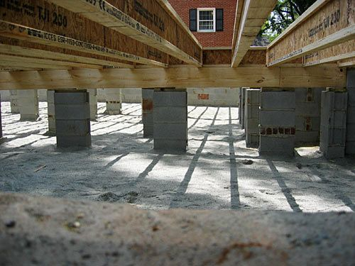 72 best images about homestead construction on pinterest for Crawl space foundation