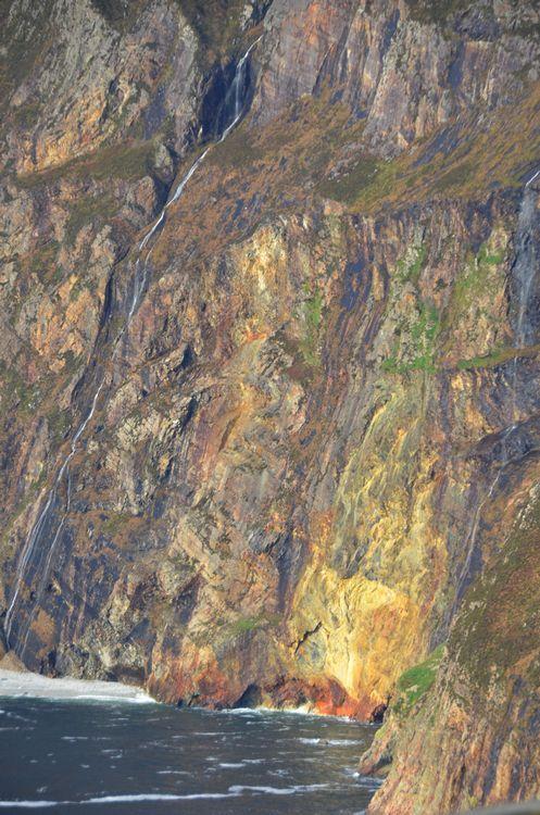 SLIABH LIAG ~ Slieve League ~ Meaning 'Grey Mountain'