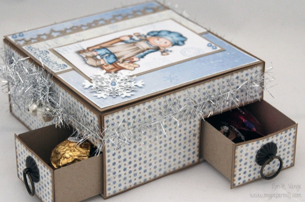 Chocolate hearts, Ferrero Rocher and Anthon Berg chocolate - Christmas 2012