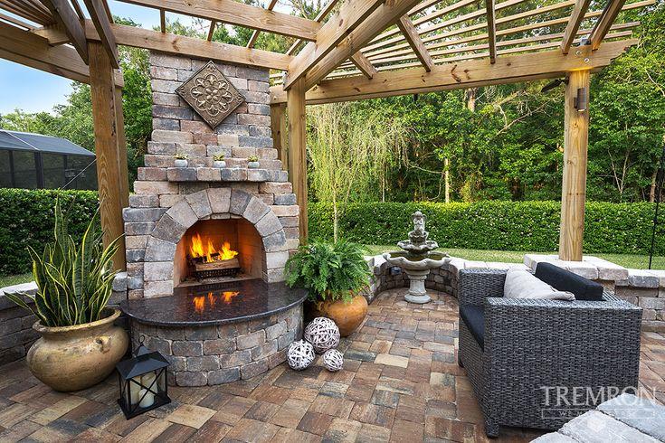17 best ideas about paver fire pit on pinterest paver