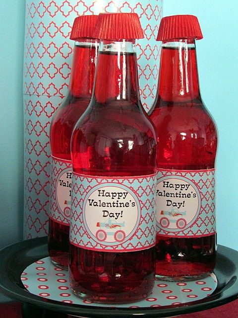 Monster truck Valentine's Day drinks