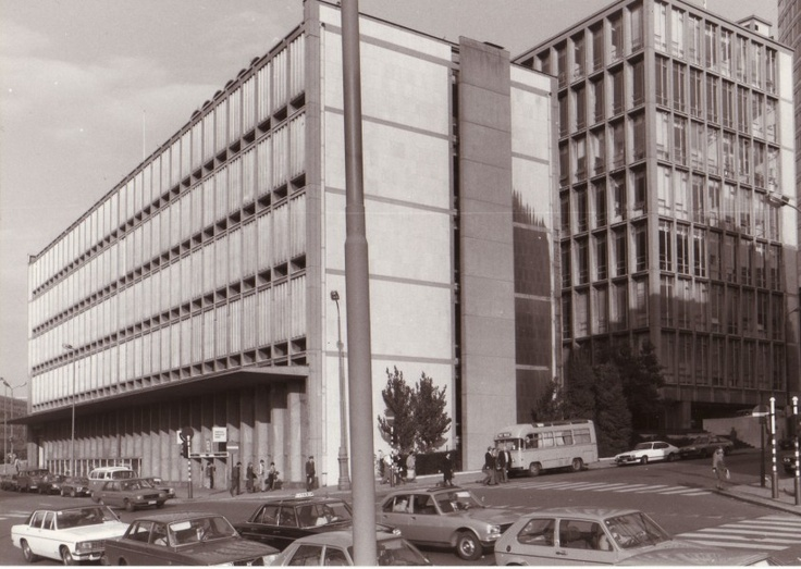 31 Best Images About Brussels Architecture In The Fifties