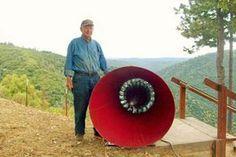 Catching Wind Power Farm, wind turbine, bladeless wind turbine, birds, conservation, design, renewable energy