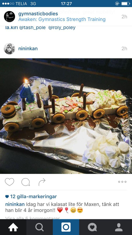 Kul tårta till Mira