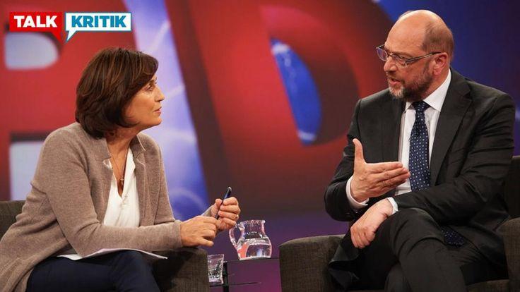 SPD-Kanzlerkandidat versucht, mit Charme bei Moderatorin Sandra Maischberger zu punkten – das ging gründlich daneben