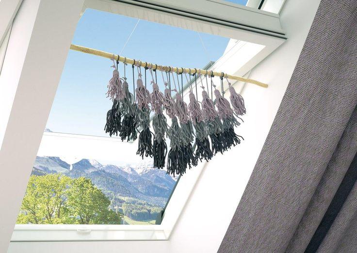 Okno dachowe trudno ozdobić? Ależ skąd!