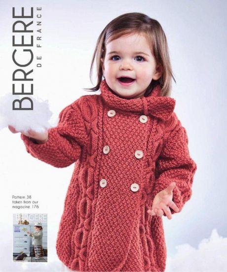пальто для девочки спицами схема пальто для девочки вязаного
