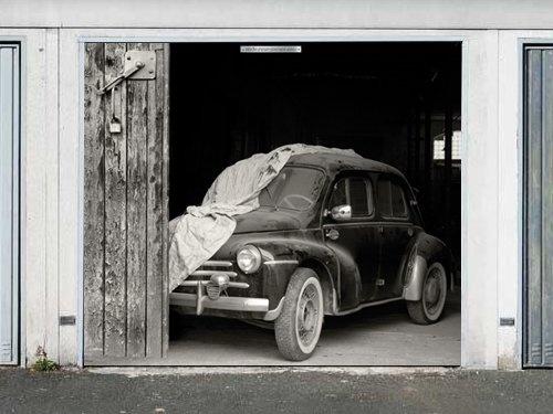 garage door billboards created by thomas sassenbach