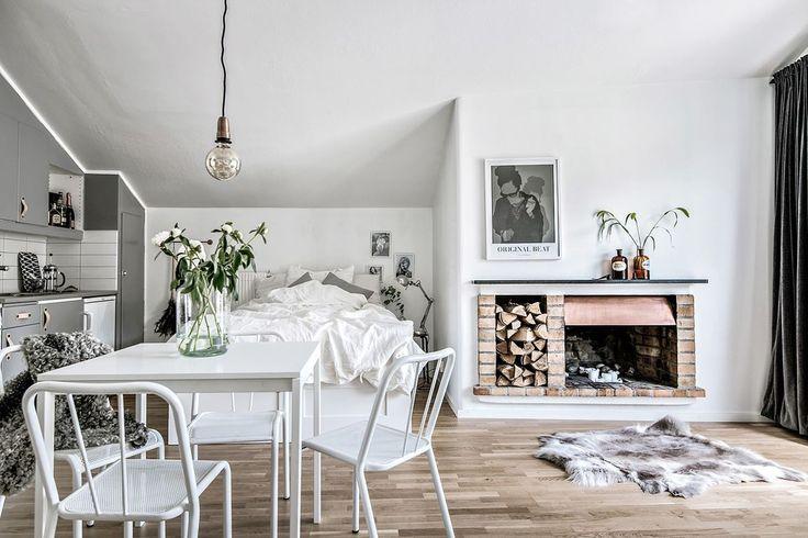 1000 id es sur le th me petit espace de vie sur pinterest maisons minuscule - Comment amenager studio ...