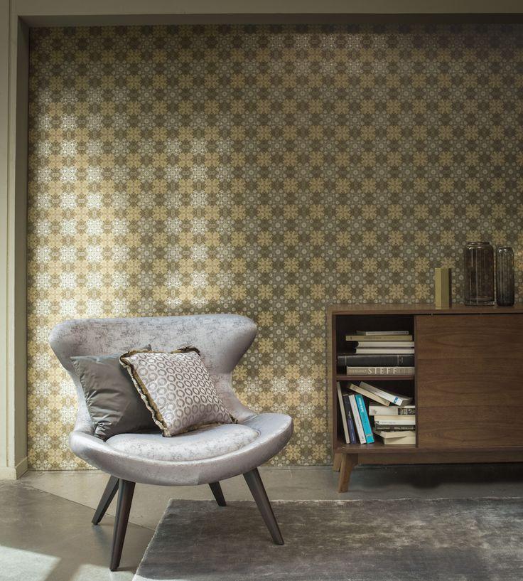 70s Interior Design Revival   Abside Wallpaper by Casamance   Jane Clayton