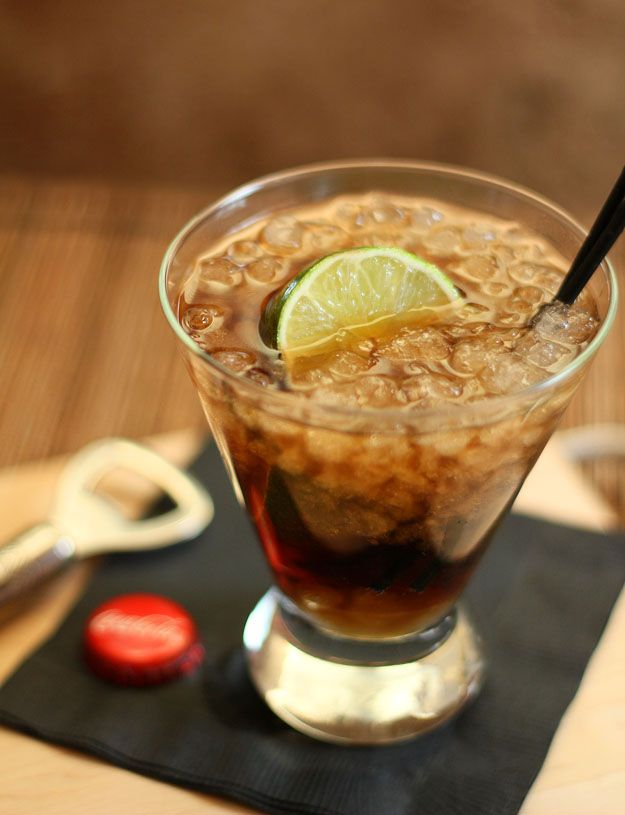 Cuba Libre (classic rum, Coke & lime) by Creative Culinary