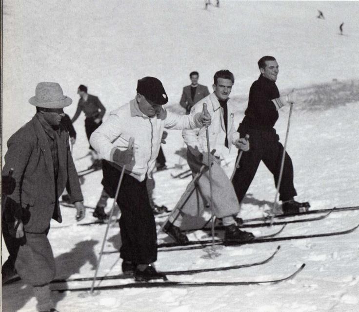 Benito Mussolini Monte Terminillo 20 gennaio 1937