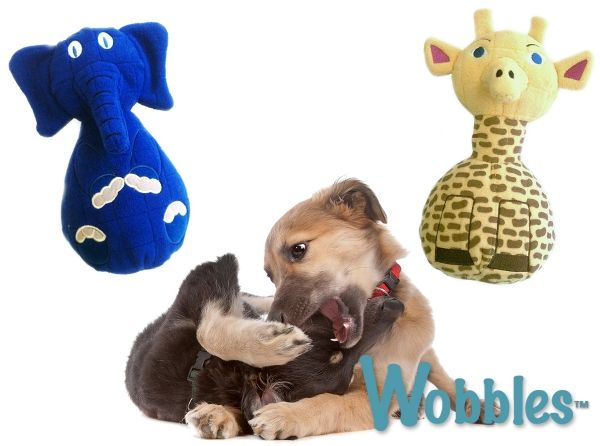 If your pup destroys all other toys, let him sink his teeth into these industrial-grade, multi-stitched layered construction Wobbles! The EverSqueak crush resistant squeaker can squeak strong against most aggressive chewers. Even better, they float!   Important to note: Just like all chew toys - If your dog is an EXTREME chewer he/she can damage the toy.   While these are strong toys, they are certainly not invincible against the most powerful chewers.