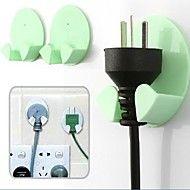 2 Pcs Hooks for Power Cord(Random Color) – USD $ 4.99