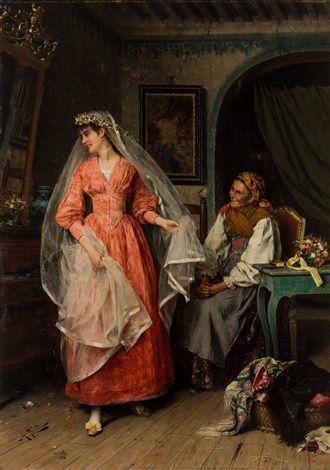 Preparing for the Wedding by Arturo Ricci