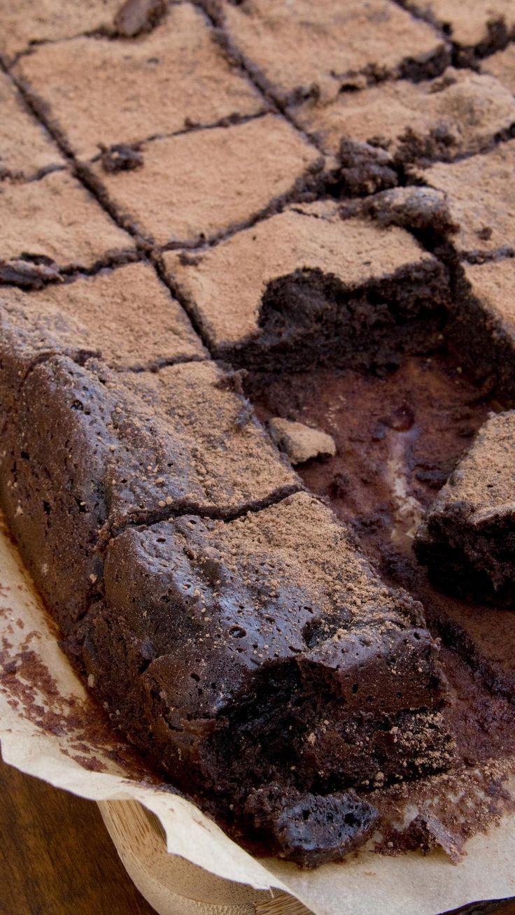 Brownie Molhadinho | Vídeos e Receitas de Sobremesas