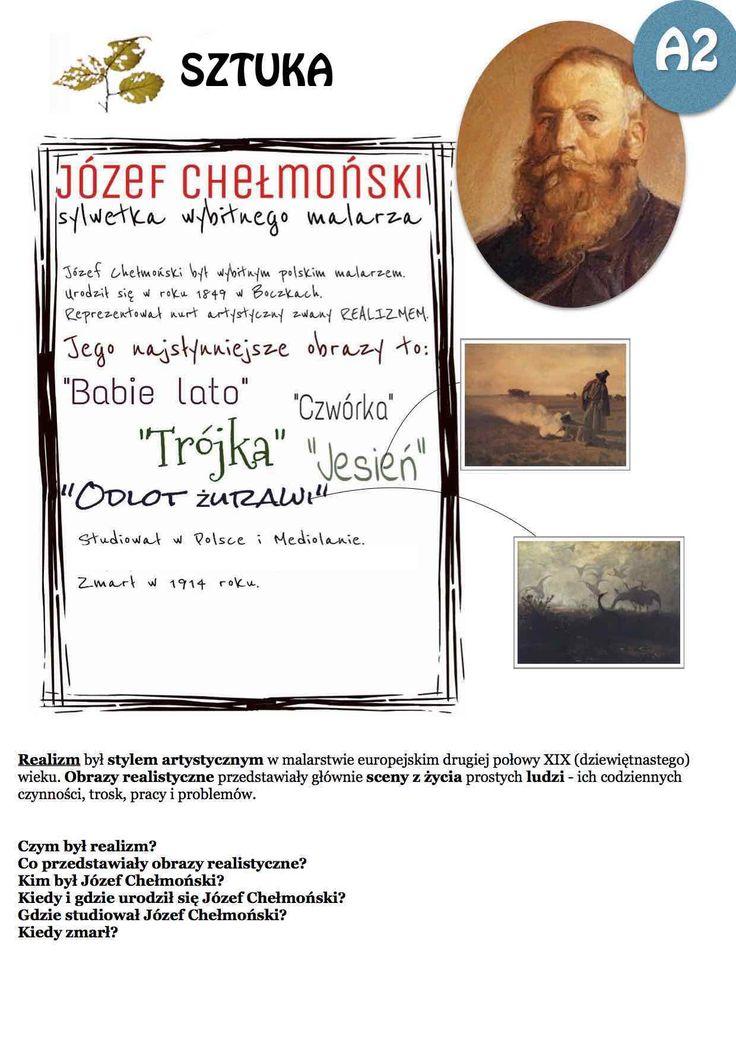 Polski malarz - Józef Chełmoński