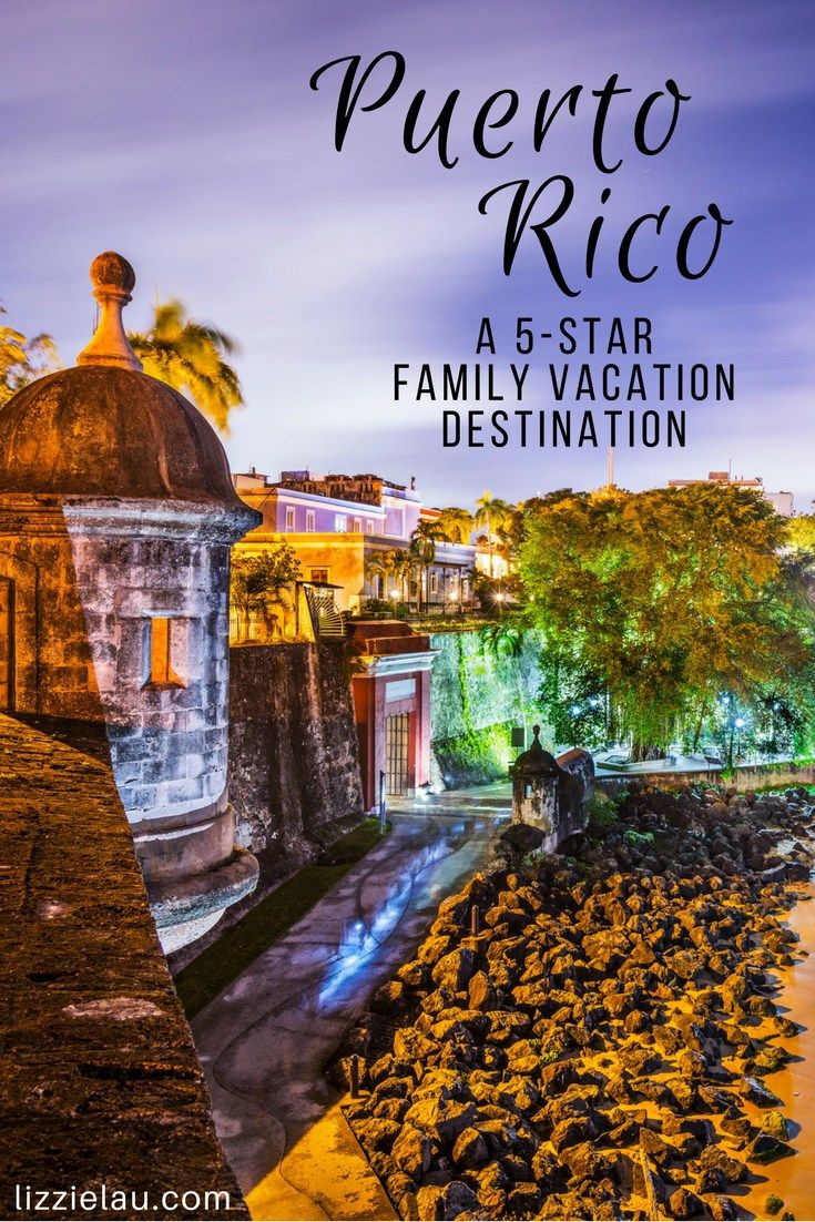 Thinking about a trip to Puerto Rico with kids? Puerto Rico is a 5-Star Family Vacation Destination! Family Travel and Adventure.